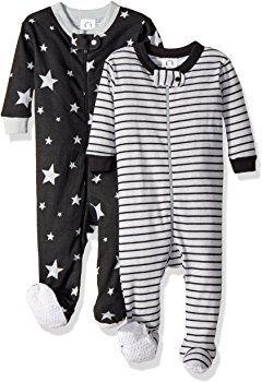 ac495e997 Amazon.com  Gerber Baby Boys 2 Pack Footed Sleeper