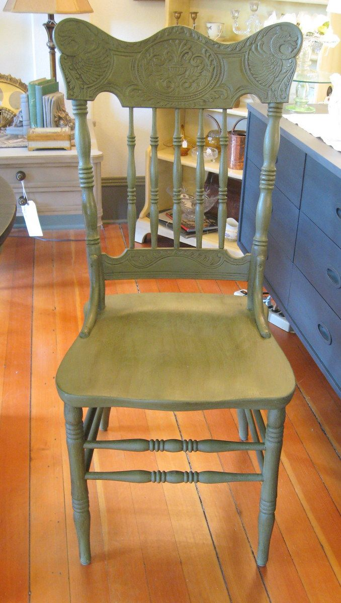 ASCP Olive! Serendipity Vintage Furnishings Painted