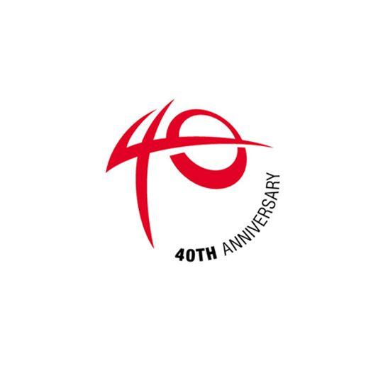 Aktio Corporation. 40th Anniversary Logo