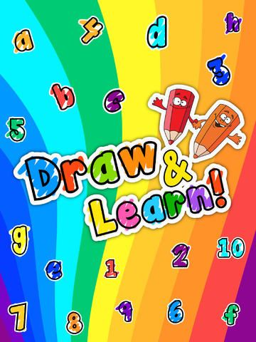 Draw & Learn is a fun tool for little kids to draw anything they can imagine. Kids can also enjoy sketching and coloring over Alphabets and Numbers.
