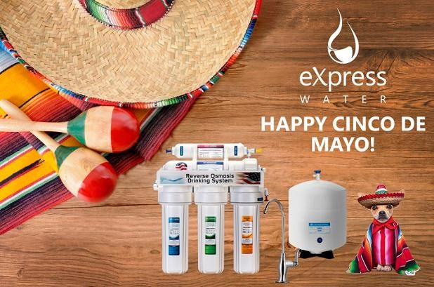 Happy Cinco De Mayo from #Express Water #CincoDeMayo #Fiesta #WaterMargarita #Party #ReverseOsmosis