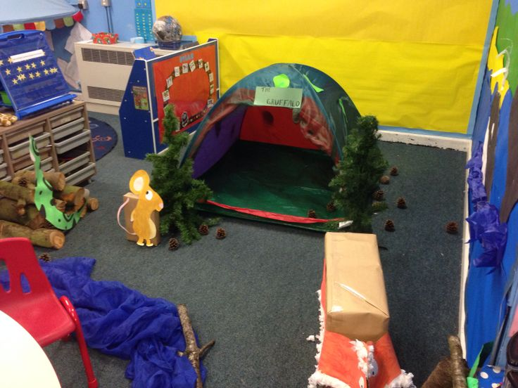 Gruffalo cave in role play area