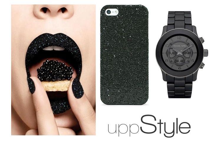 #czarny #uppstyle #black #style