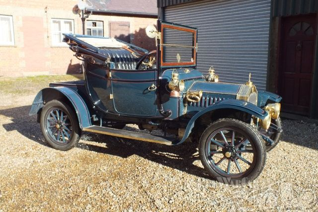 De Dion-Bouton 9 hp Twin Cylinder Drop head coupe 1911 for sale
