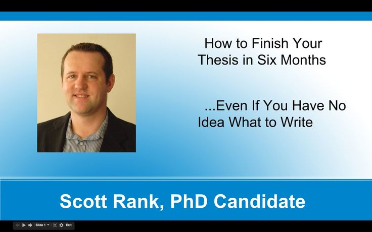 how to choose a good phd thesis