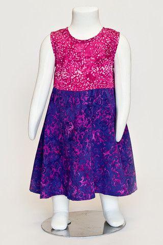 batik dress, summer dress, batik dress, girls dress