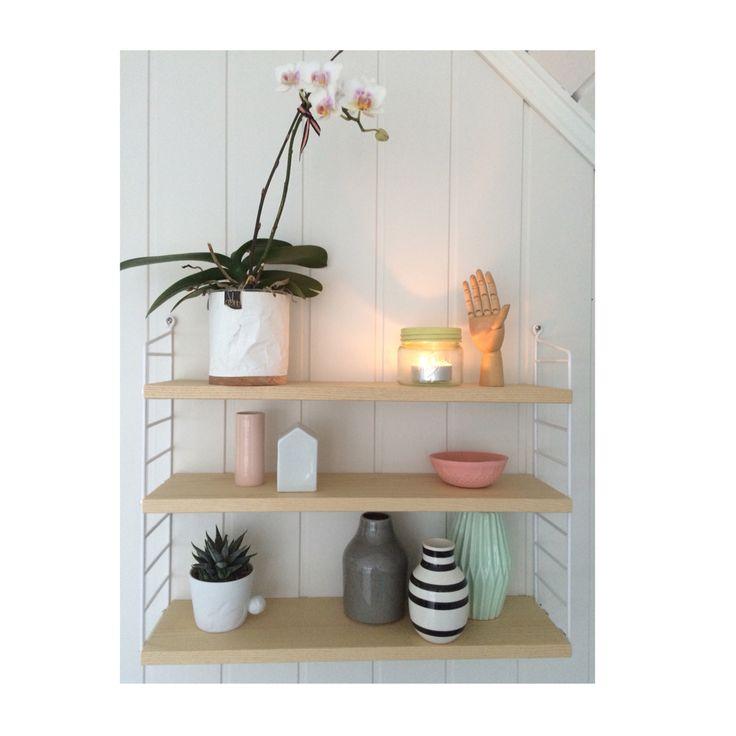 String shelf, kähler, oyoy, mugtail, cactus harmoni