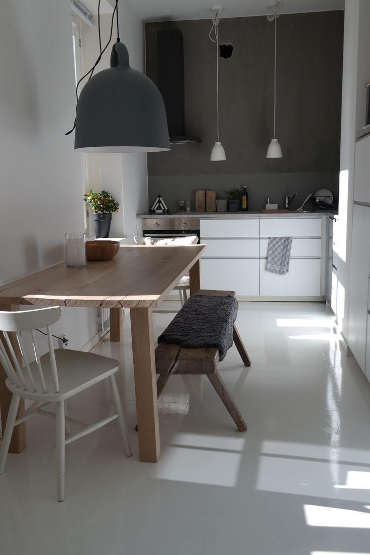 Luminous loft kitchen