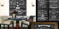 Chalkboard Posters #chalkboard #chalkposter