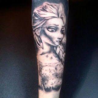 Caroline Sometimes: My Body Modifications Elsa by Johnny Flash Session 1