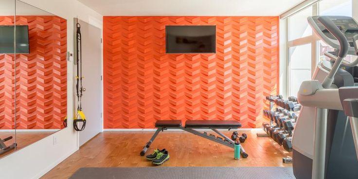 Best ideas about orange accent walls on pinterest