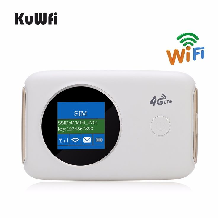 Buy KuWFi Unlocked 4G Wireless Wifi Router Car Mobile Wifi Hotspot Portable 3G 4G Wifi Router Pocket With Sim Card Slot Up to 10User.. #huawei #wireless #wifi #lte #adafter #snapdragon bluetooth