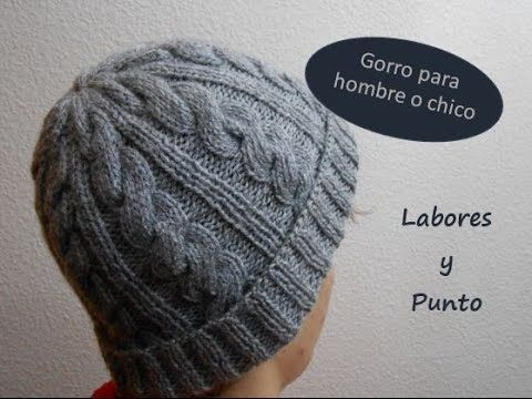 Best 464 Punto a dos agujas Gorros images on Pinterest | Crocheted ...