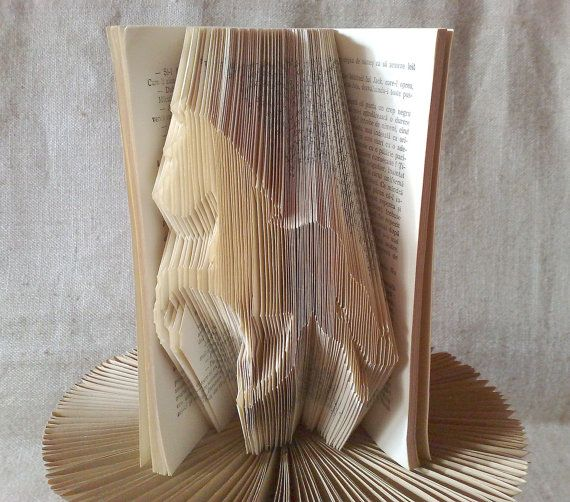 Book folding pattern and FREE Tutorial  Horse by PatternsStore