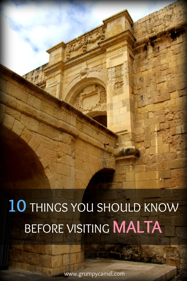 Here's what you need to know before visiting Malta: http://www.grumpycamel.com/malta-10-things-to-know