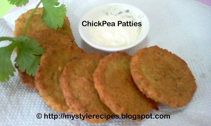 My Style of Recipes: Nohut Koftesi | Chickpea Patties | Turkish Style Chickpea Patties | Turkish Recipes