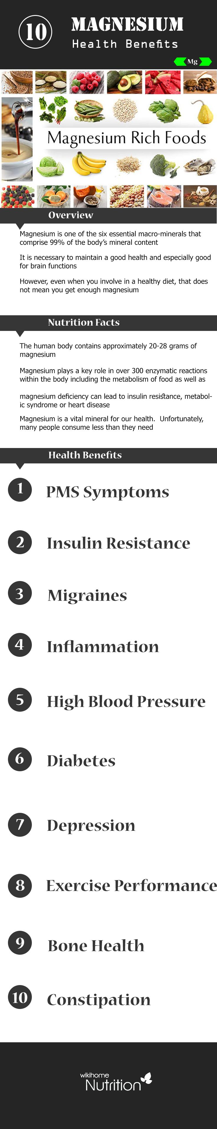Do not ignore top impressive health benefits of magnesium, one of the six essential macro-minerals.