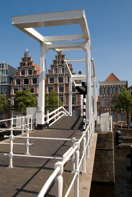 Yesssss mijn bruggetje #Haarlem. Walked this bridge daily to work.