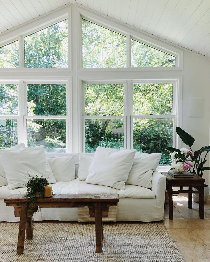 Best 25 Living room windows ideas on Pinterest  Living room window treatments Bamboo shades