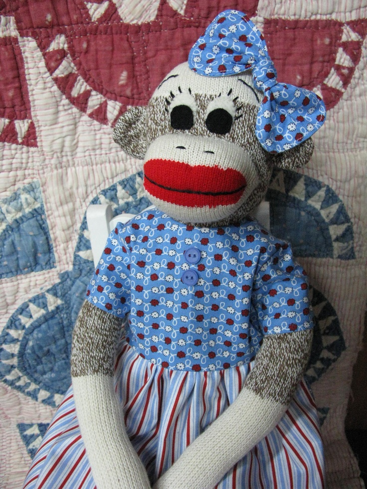 96 best images about Sock Monkey on Pinterest