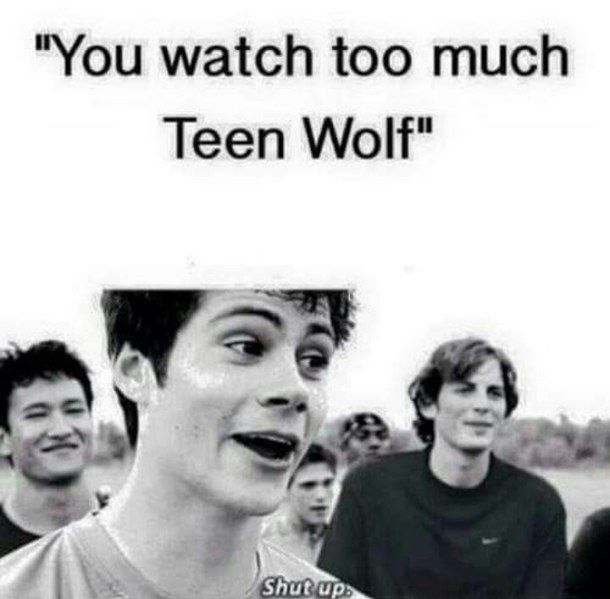 amazing, just perfect, never too much, shut up, teen wolf, Dylan O'Brien, :'), stiles stilinsky
