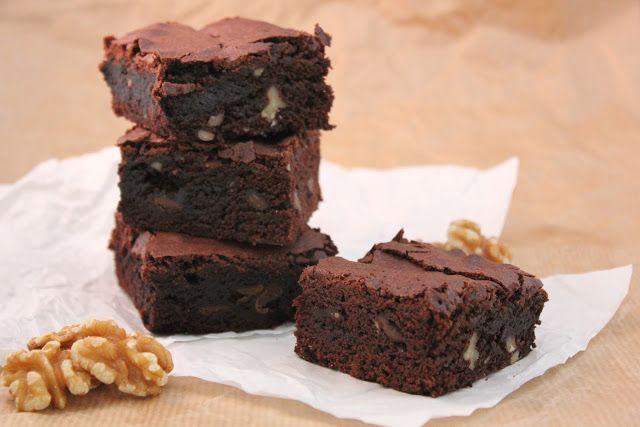 CookieCrumble: Valnødde Brownie
