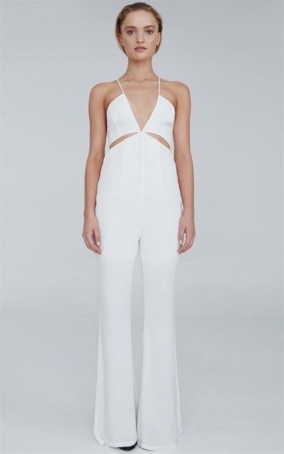 Steal Taylor Swift's outfit from the 2015 Billboard Music Awards with this White Crystal Valley Jumpsuit by Ruby Sees All. Price was $189.95 and is now $75.00. Shop now at Ozsale!