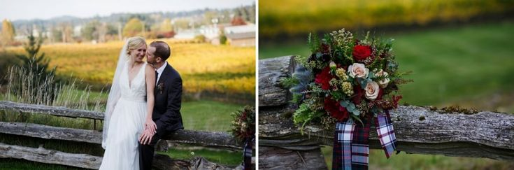 Love the wedding bouquet by FLEURtacious Photos by FunkyTown Photography.