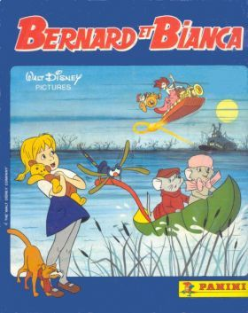 Bernard et Bianca The Rescuers Disney Panini Storybook Sticker Book