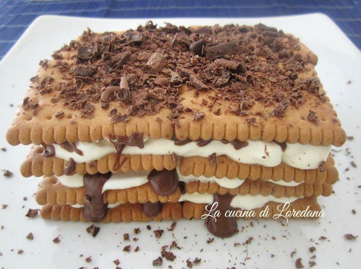 Mattonella al Tiramisù e Nutella