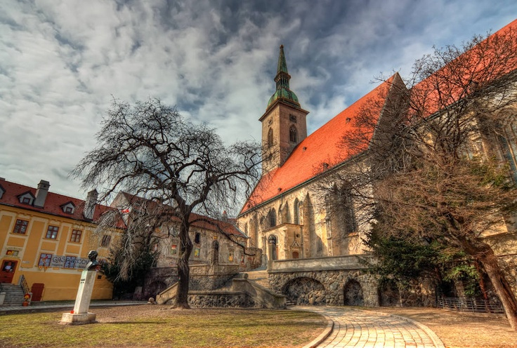 St. Martin Cathedral #Bratislava #Slovakia