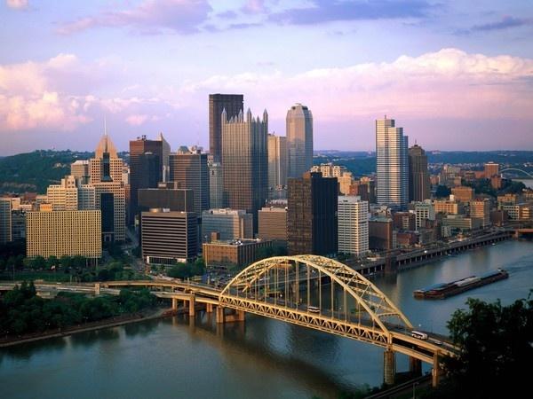 Pittsburgh Skyline from atop Mt. Washington