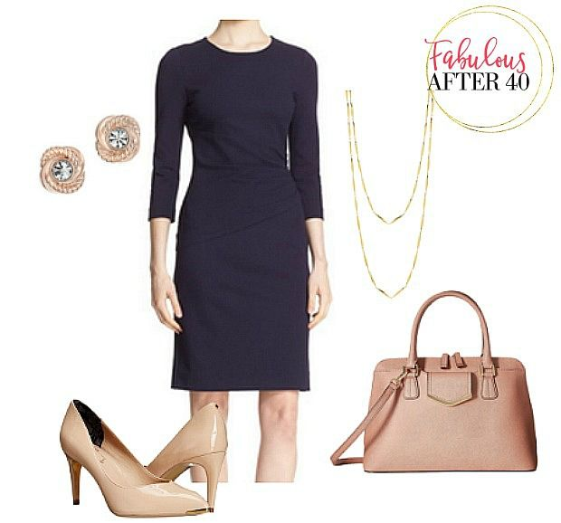 Navy Dress for a Funeral | Fabulous After 40