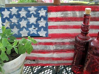 Sweet Something Designs: Red, White & Blue: Wood Already Sweet, Wood Projects, Pallets Wood, Pallet Wood