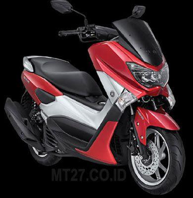 Yamaha N-MAX-MERAH