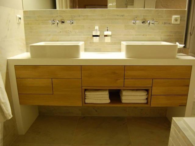 Meer dan 1000 idee n over badkamer lade op pinterest bad for Zelf maken badkamermeubel