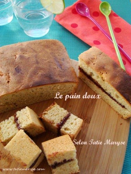 Recette du pain doux selon Tatie Maryse - Le blog de recettes antillaises de Tatie Maryse