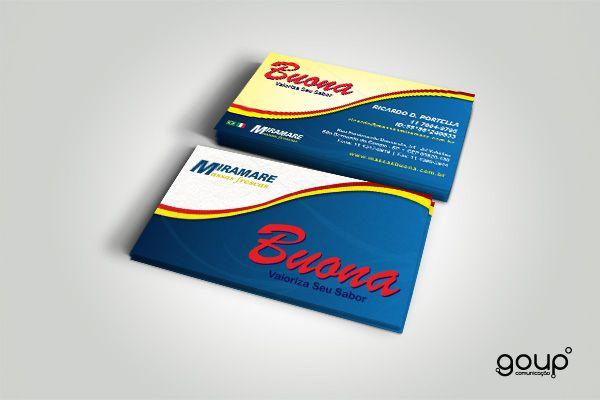 Cartão de visita - Buona