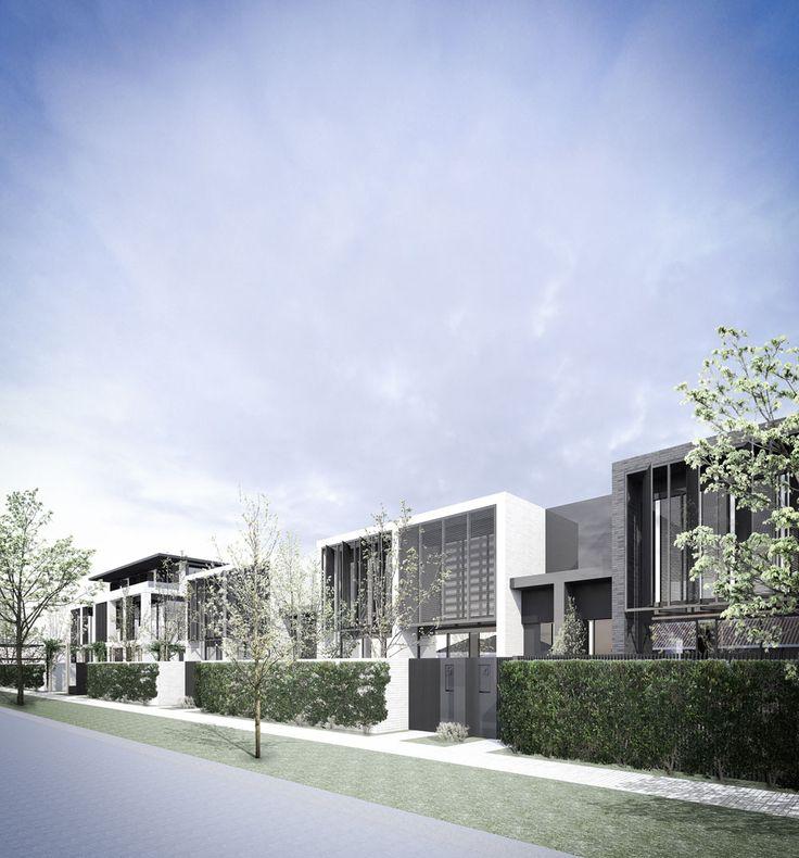 Conrad Architects Luxury Townhouse Development 10
