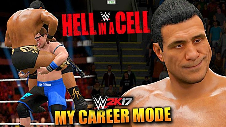 WWE 2K17 MY CAREER MODE #59 'HELL IN A CELL PAY PER VIEW!' (WWE 2K17 Gam...