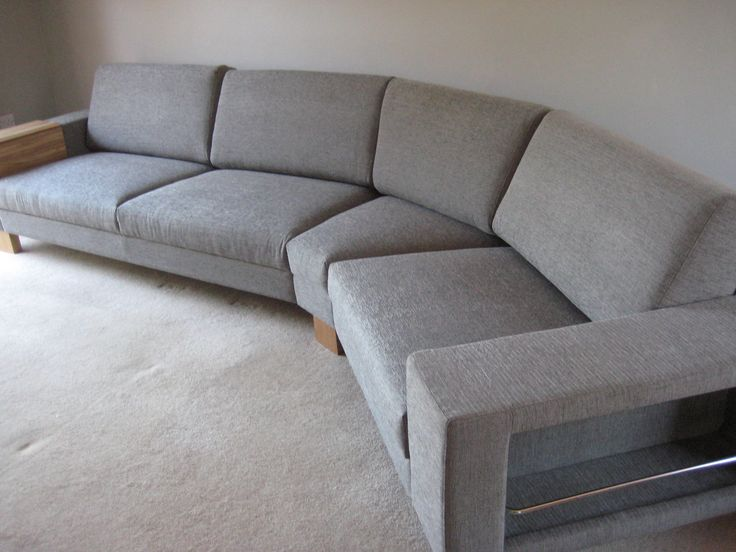 Corylus left hand arm sofa plus 45 degree corner section plus wide seat section with integrated newspaper rack arm (27 cm wide).