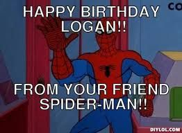 d8273ae14174af62776a83e5d1828144 happy birthday meme birthday memes 106 best viral memes images on pinterest cat memes, girlfriend,Spiderman Happy Birthday Meme