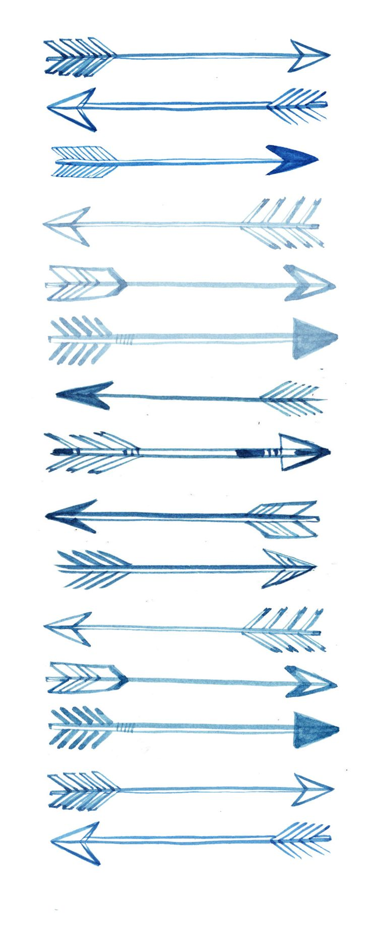 i love sketchy/drawn arrows~ [Arrow of Truth] ~ another pinner said Tattoo. An arrow is pulled back before flying forward, telling you that even though you are feeling down now, it's only because you are going to go far.