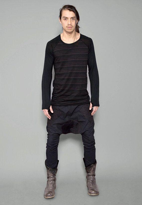 764cb08822ff4 Black Futuristic Pants