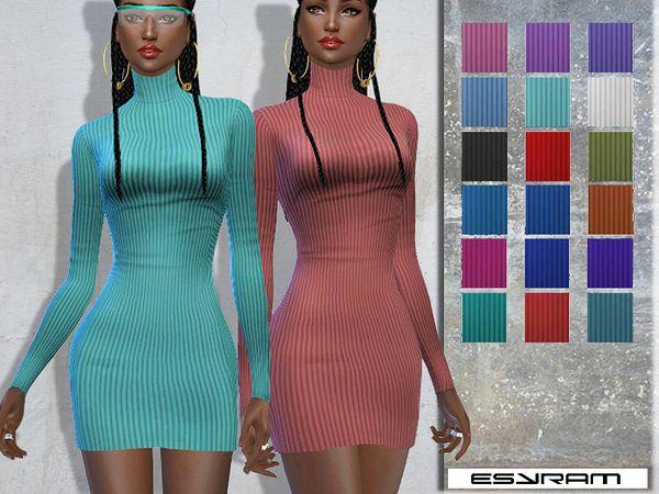 EsyraM's Cowl Neck Jumper Dress