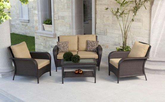 Lujoso home depot muebles de bancos de jard n for Home depot muebles