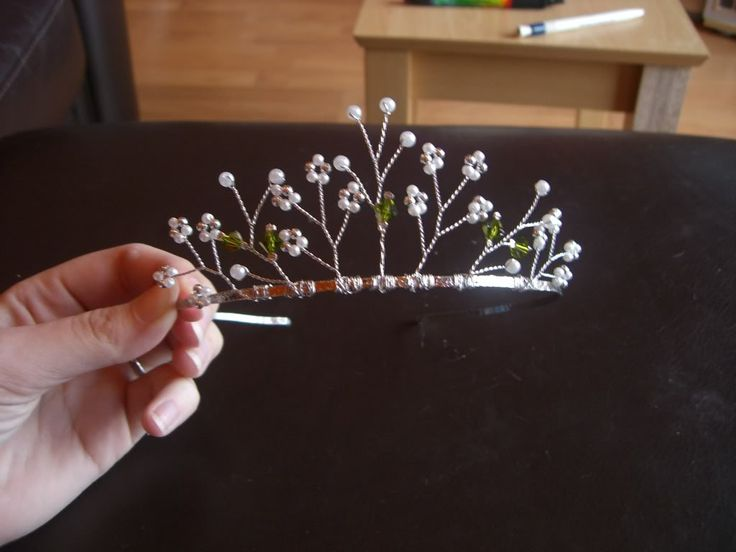 YouTube - Part one of our tiara making tutorial