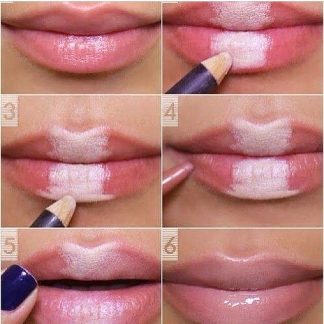 #lips #tuto #tutorial #simple #nuce #cool #awesome #lovely #naturel #white #like #followme #doubletap #diy👄