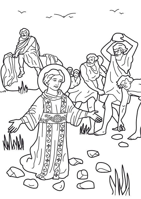free catholic bible coloring pages - photo#13