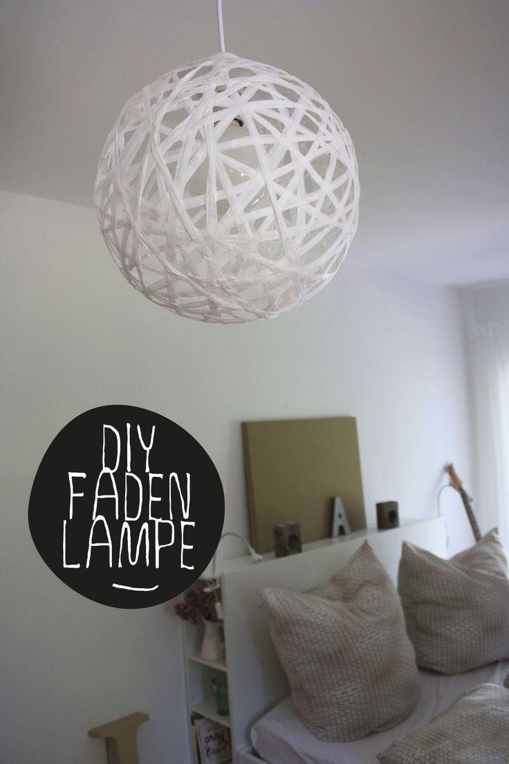 Diy Instructiedraadlamp Koord Of Raffia Perfect Rond I Like Home Thuisdecoratie Meubels Reinigen Interieur Diy